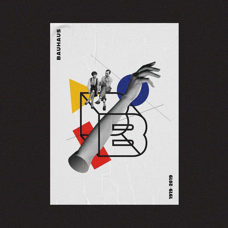Bauhaus 100th Annversary Posters Serie