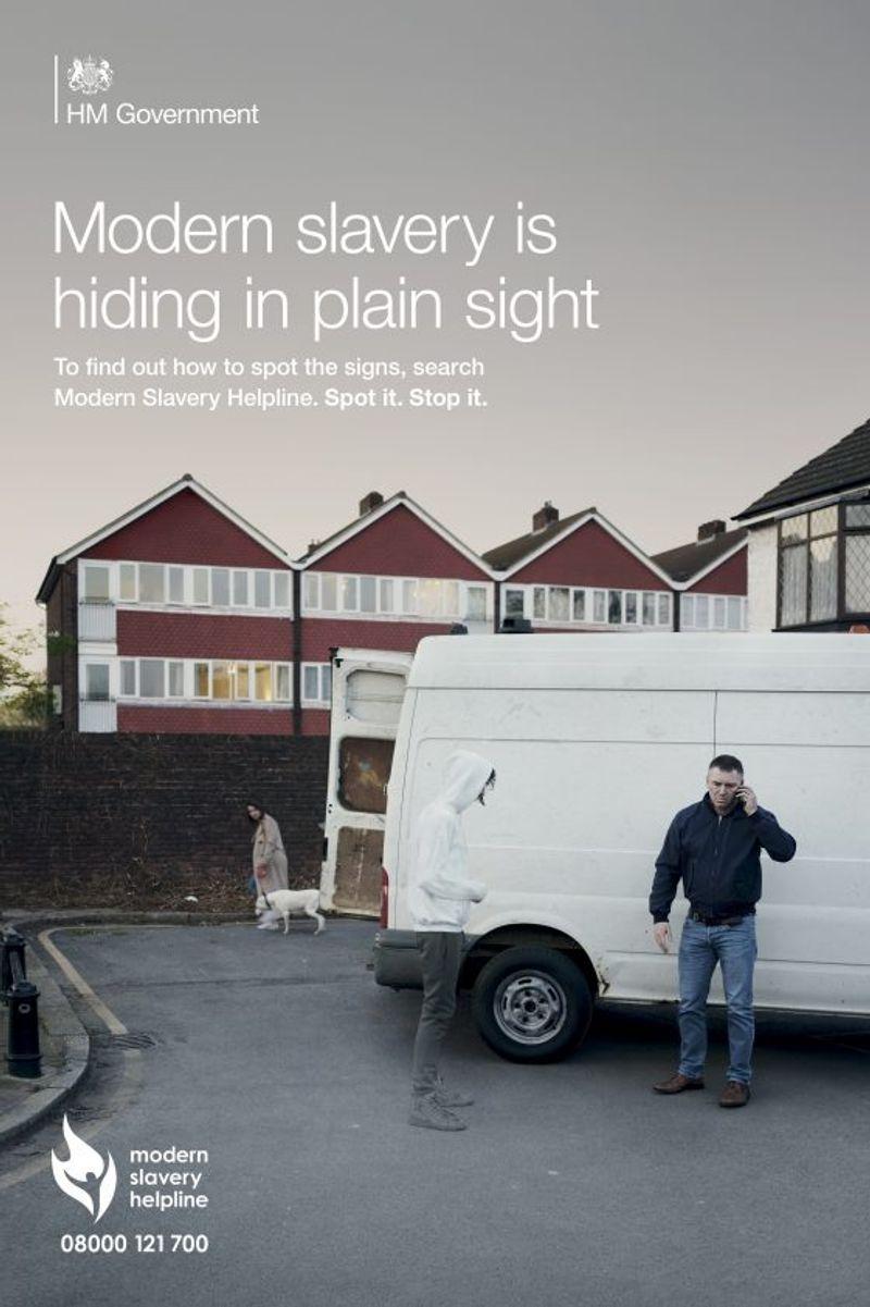 David Harriman, Modern Slavery