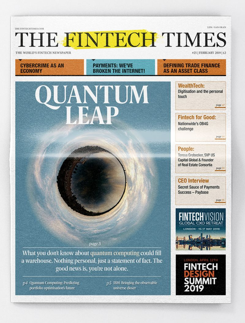 The Fintech Times - Newspaper Layout & Art Direction