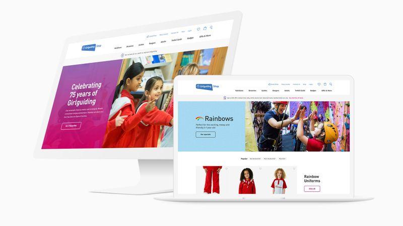 Girlguiding Shop - Designing a new web shop experience.