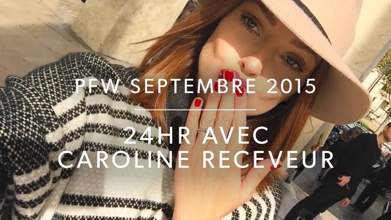Paris Fashion Week with Caroline Receveur