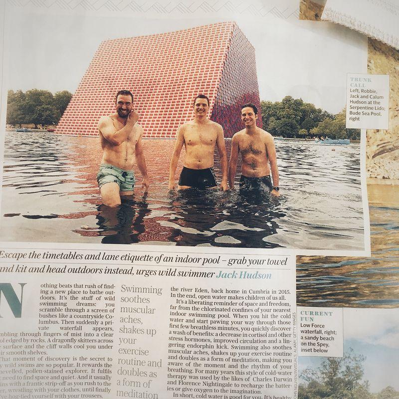Britain's 20 Best Outdoor Swim Spots (The Telegraph)
