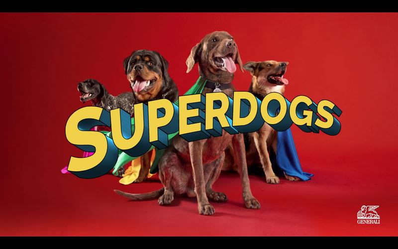 Superdogs by Generali