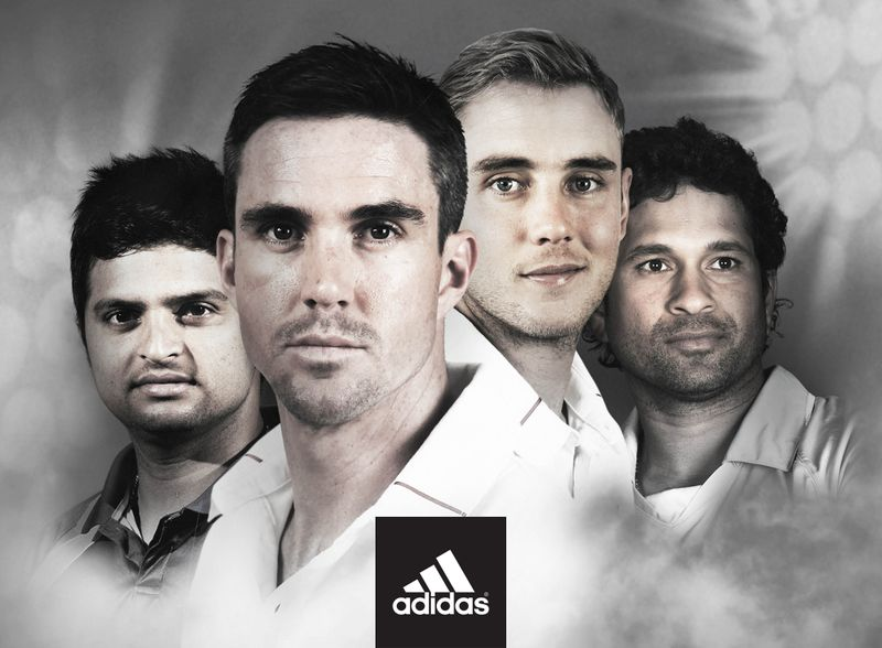 Adidas cricket kit launch campaign