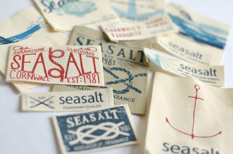 Seasalt Clothing Branding