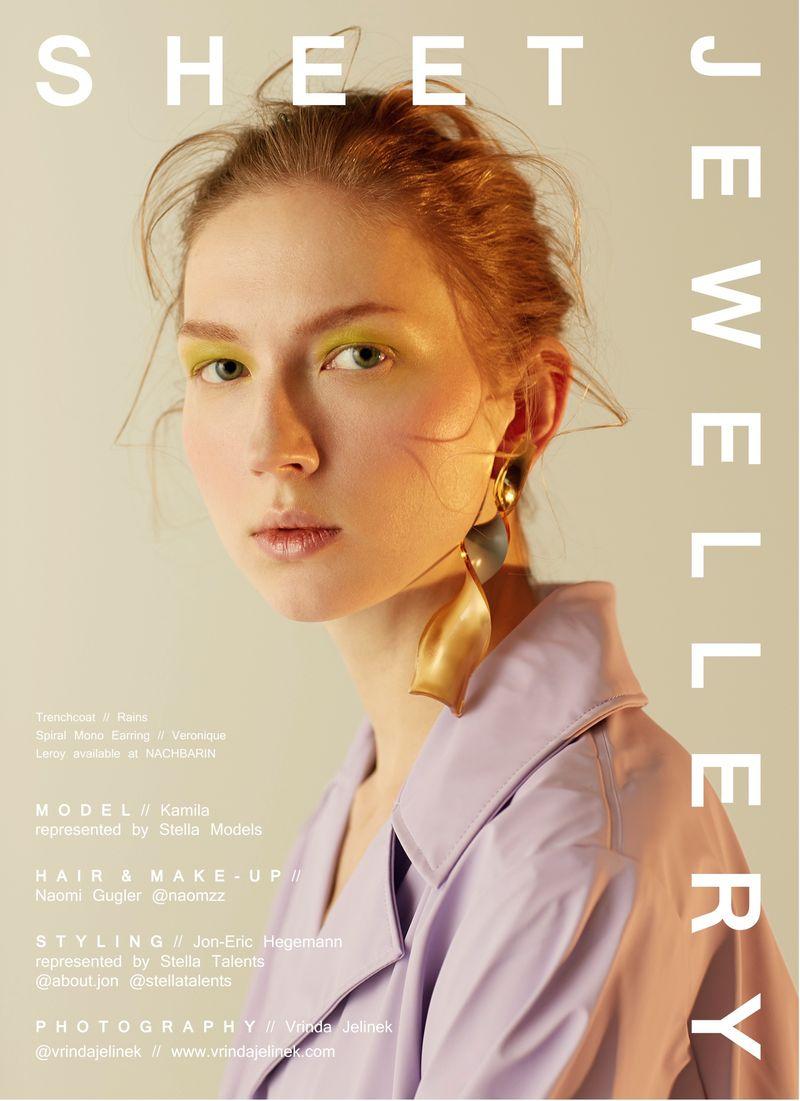 Sheet Jewellery in Purple Haze Magazine