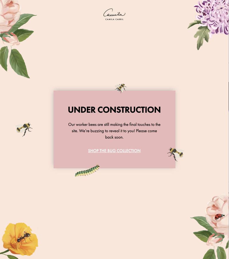 Website Creation & Copywriting | bycamilacarril.com