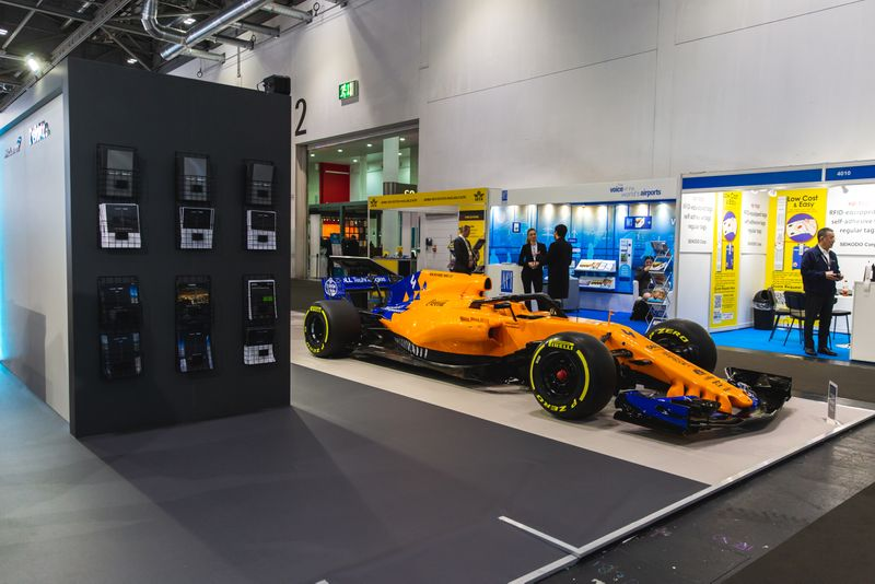 McLaren Deloitte Passenger Terminal Expo