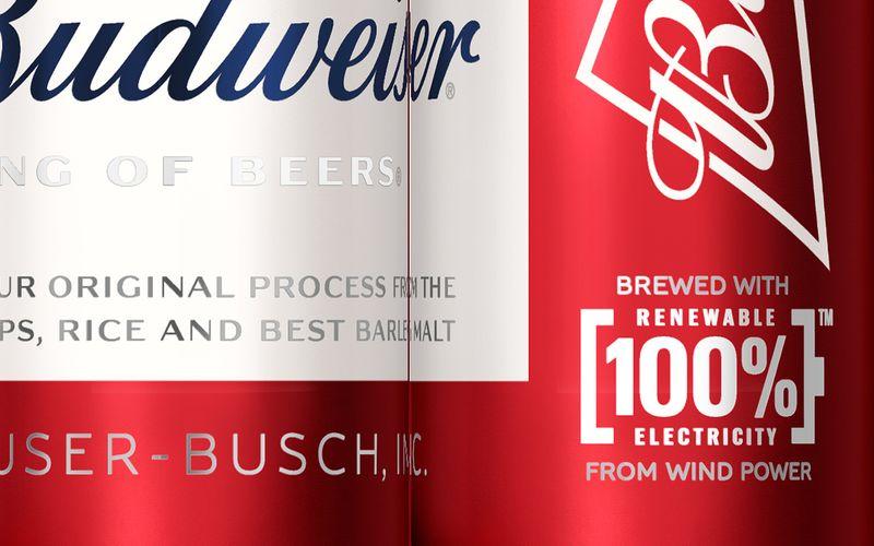 Budweiser 100% Renewable