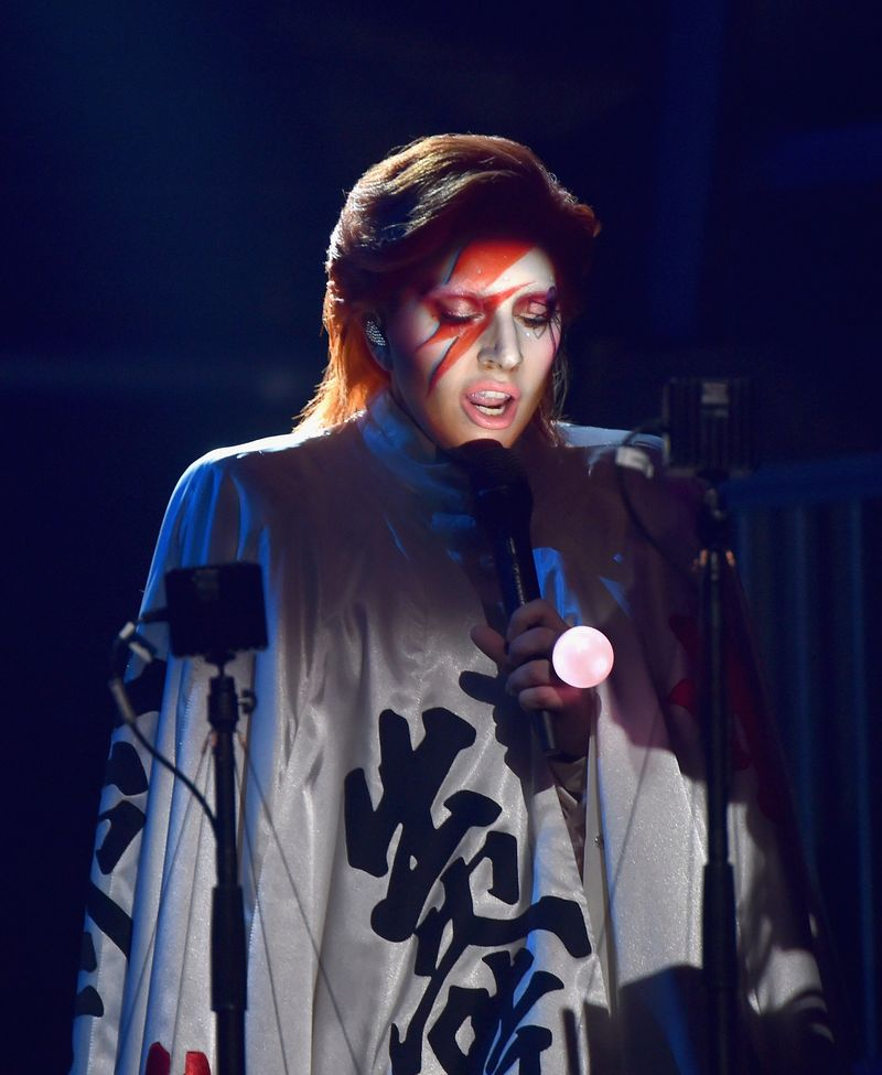 Lady Gaga's — Grammy 2016 — David Bowie Tribute