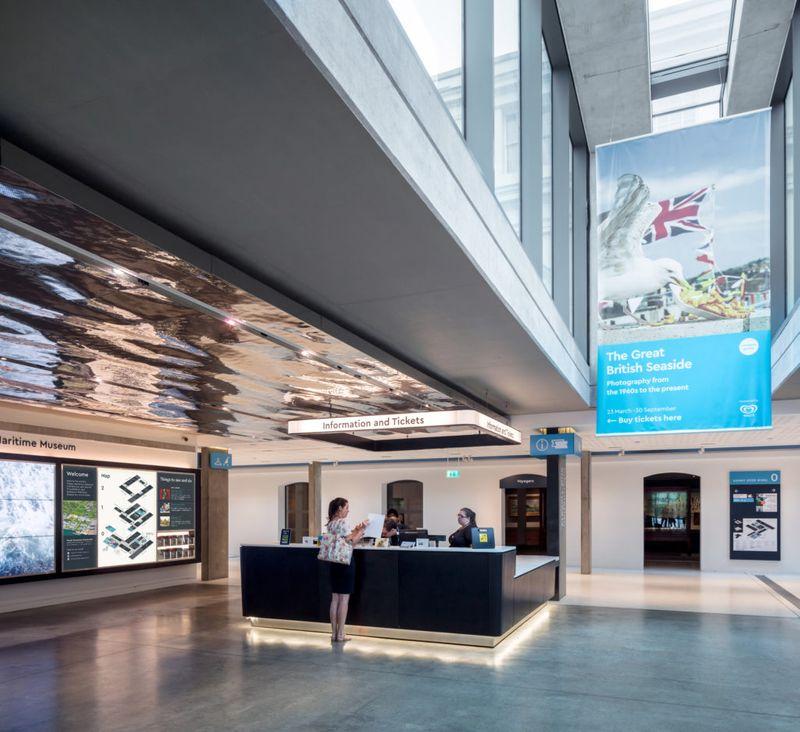 National Maritime Museum's New Parkside Entrance, London
