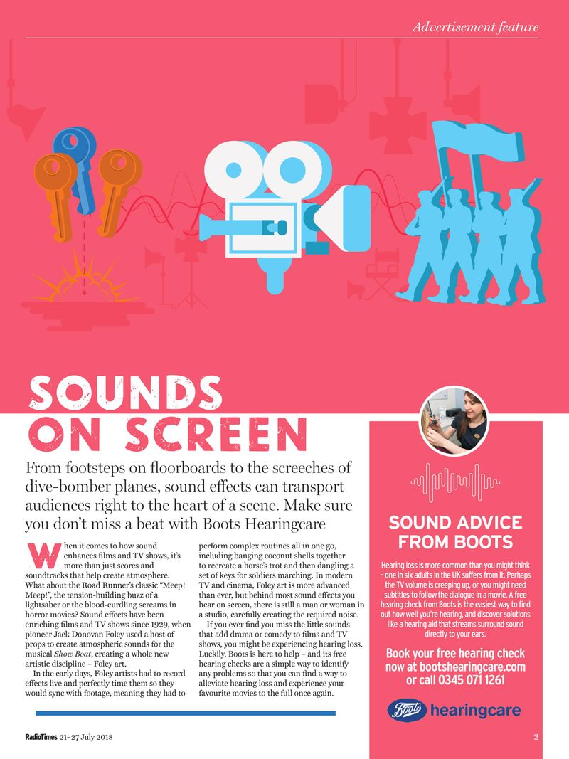 Sounds On Screen Campaign