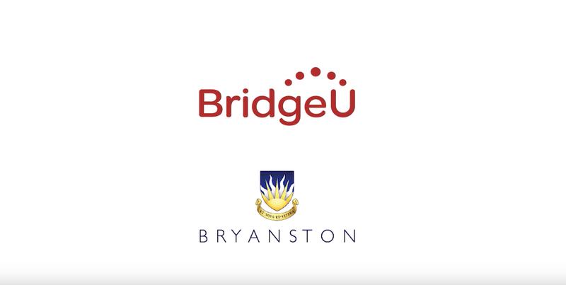 Bryanston School - BridgeU Partner School Testimonial Film