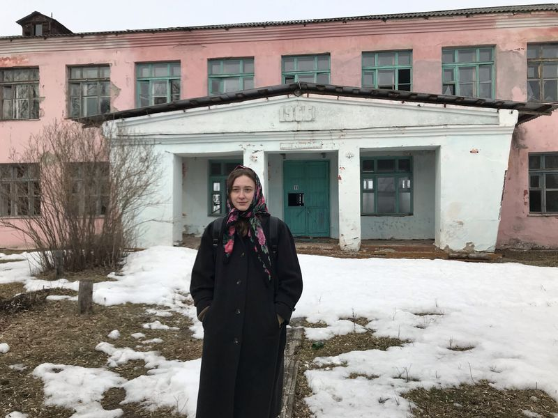 Russia's dying villages inspire rising star of art world