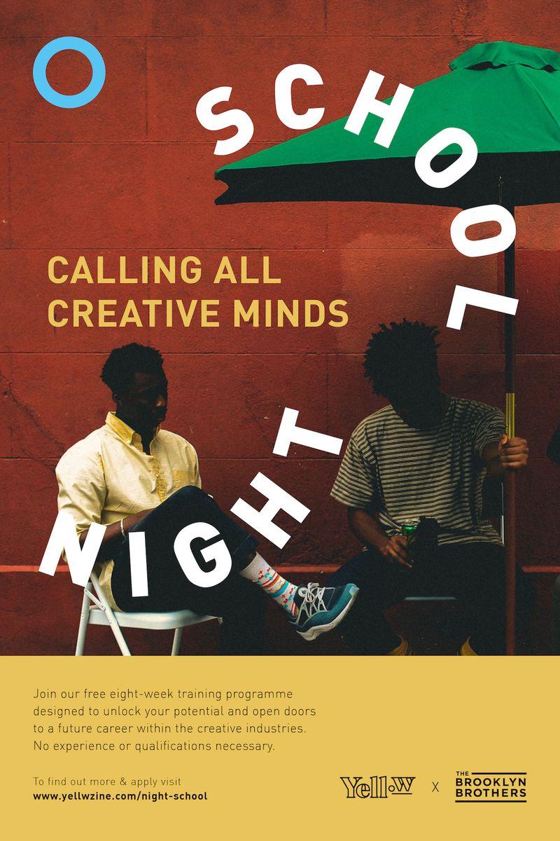 Night School: A free 8-week creative mentorship programme