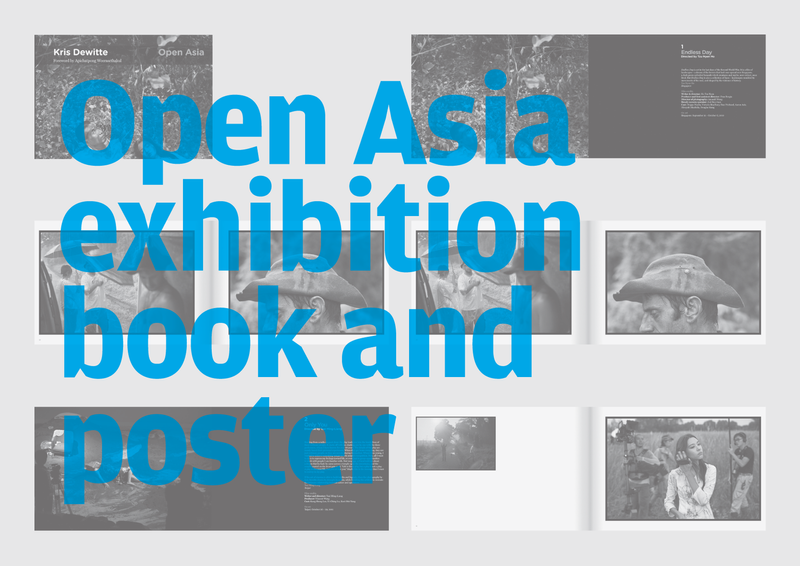 Open Asia Exhibition, book and poster
