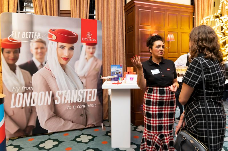 Stansted Airport Travel Show 2