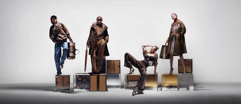 The Thomas Burberry Monogram collection