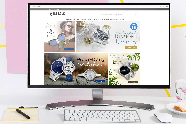 Banners For Website Bidz Com The Dots