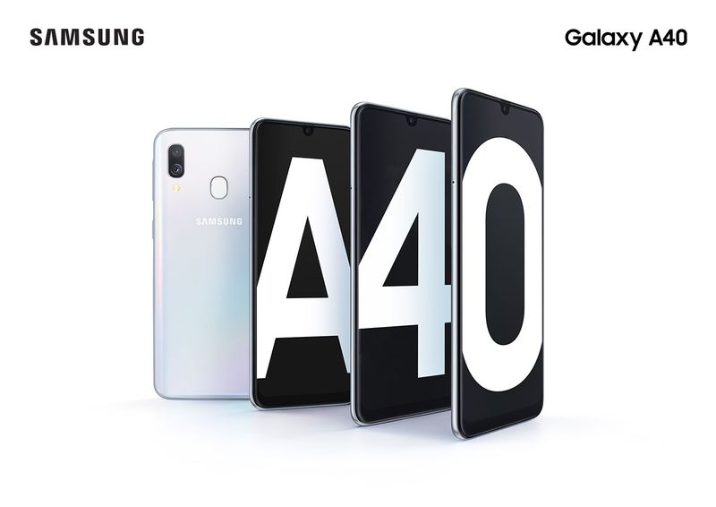 Samsung Galaxy A40 Retouching Project