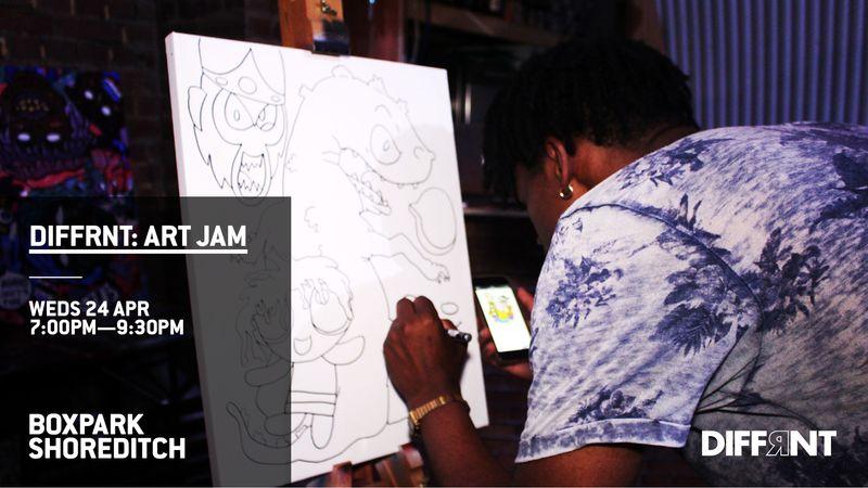 Art Jam (Rhythm  & Grime theme)