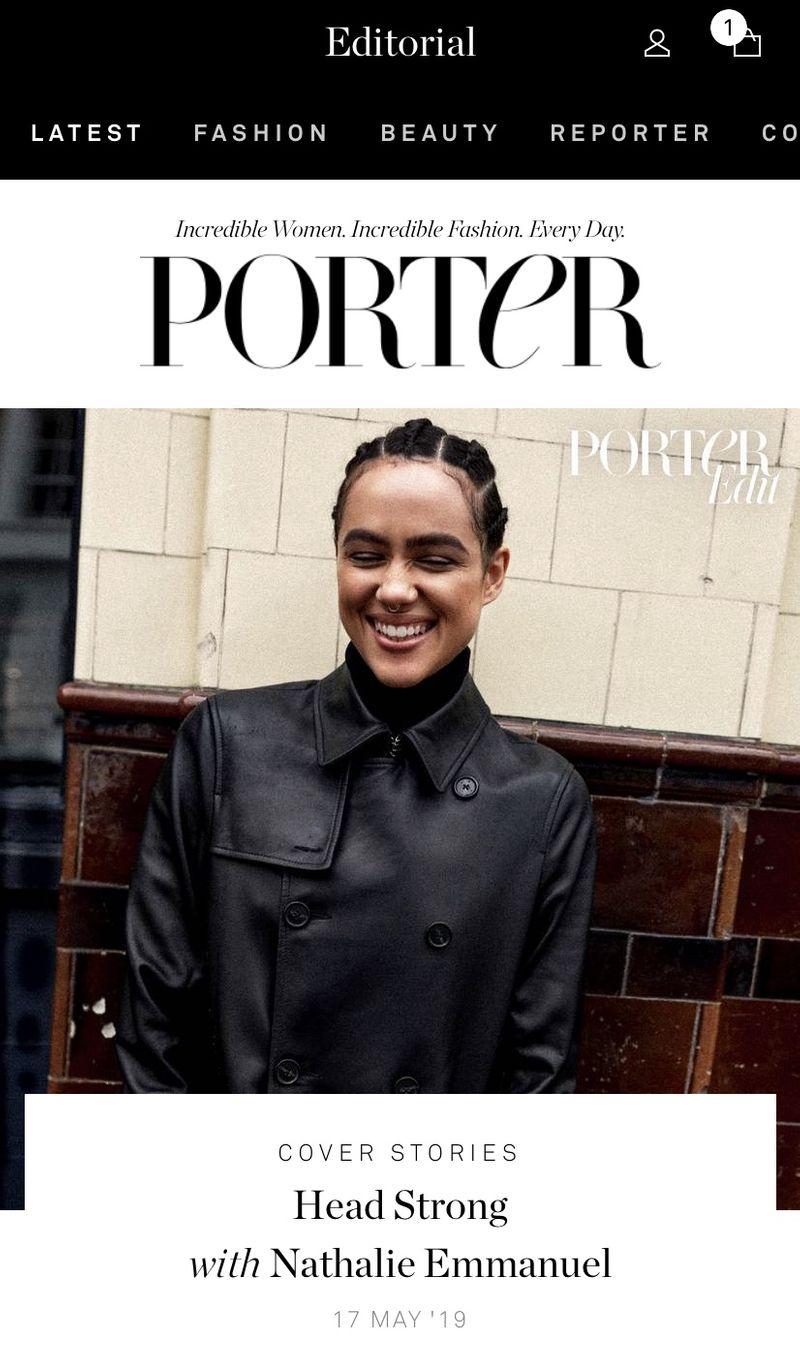 PORTER: Black Girl Beauty