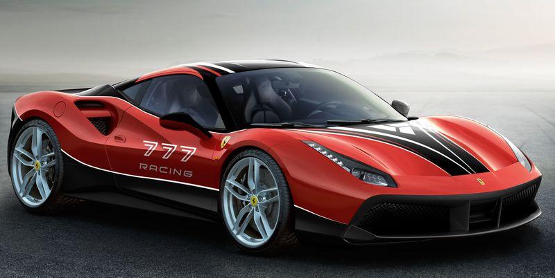 777 Racing Ferrari Livery Design