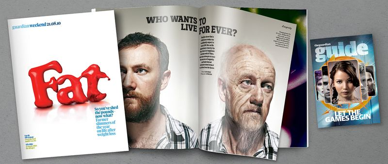 Guardian News and Media - Retouching and Illustration
