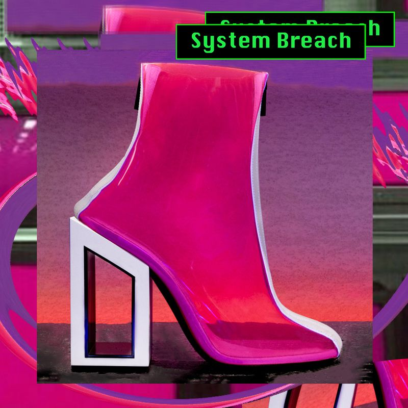 Void ankle boots animations & Graphics for Nicholas Kirkwood