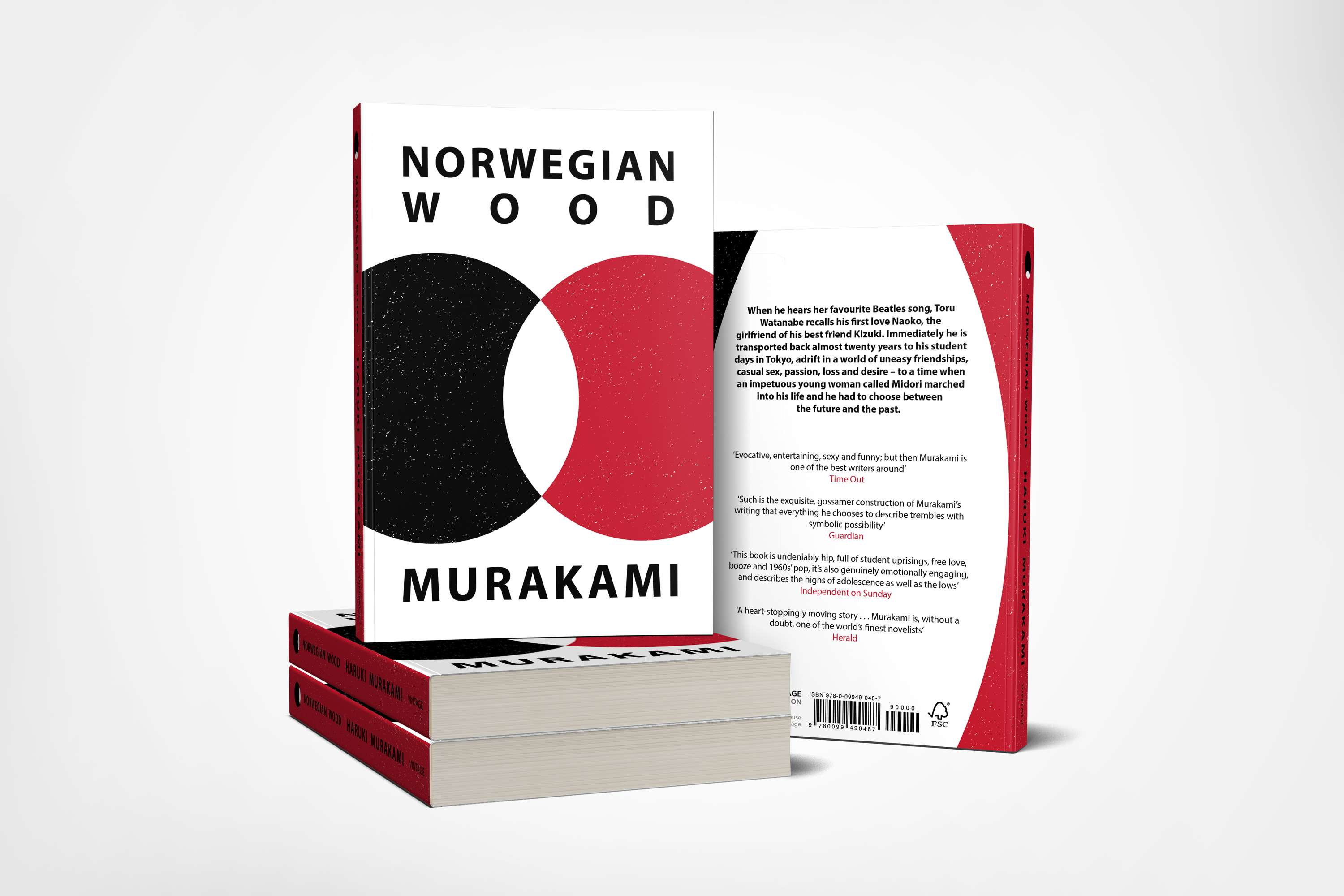 Norwegian Wood - Book Cover Design | The Dots