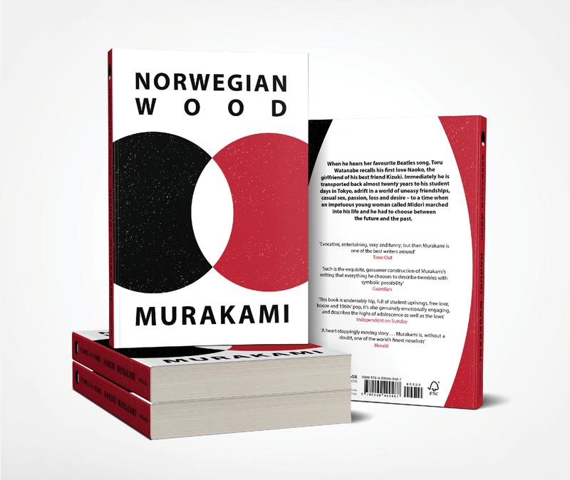 Norwegian Wood - Book Cover Design