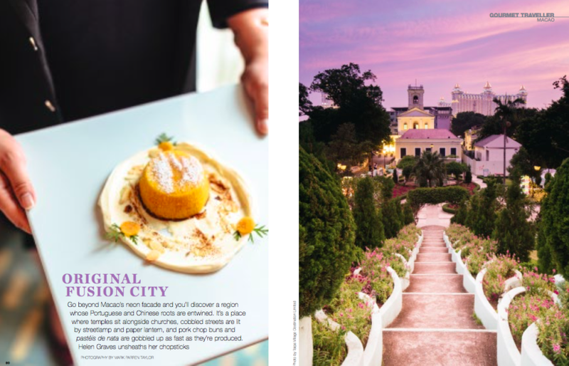 Food & Travel Magazine: Gourmet Traveller Macao