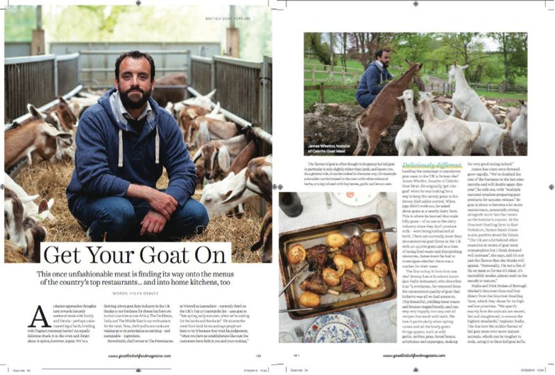 Goat: Great British Food Magazine