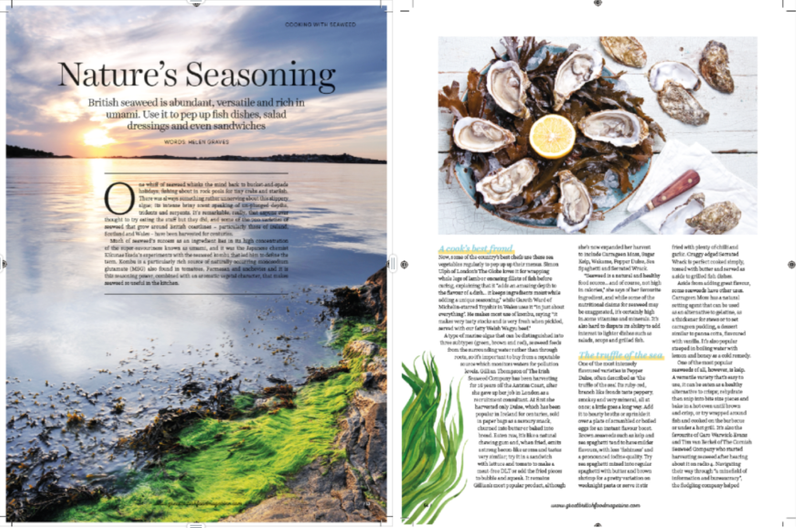 Seaweed: Great British Food Magazine