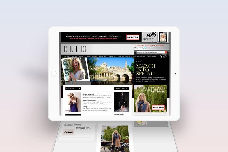 Hunter, Online Advertising