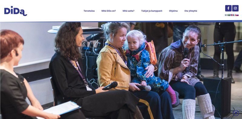 Disability Day Art & Action festival new website design and development