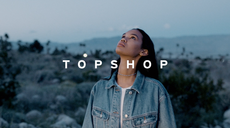 TOPSHOP Island Life Campaign