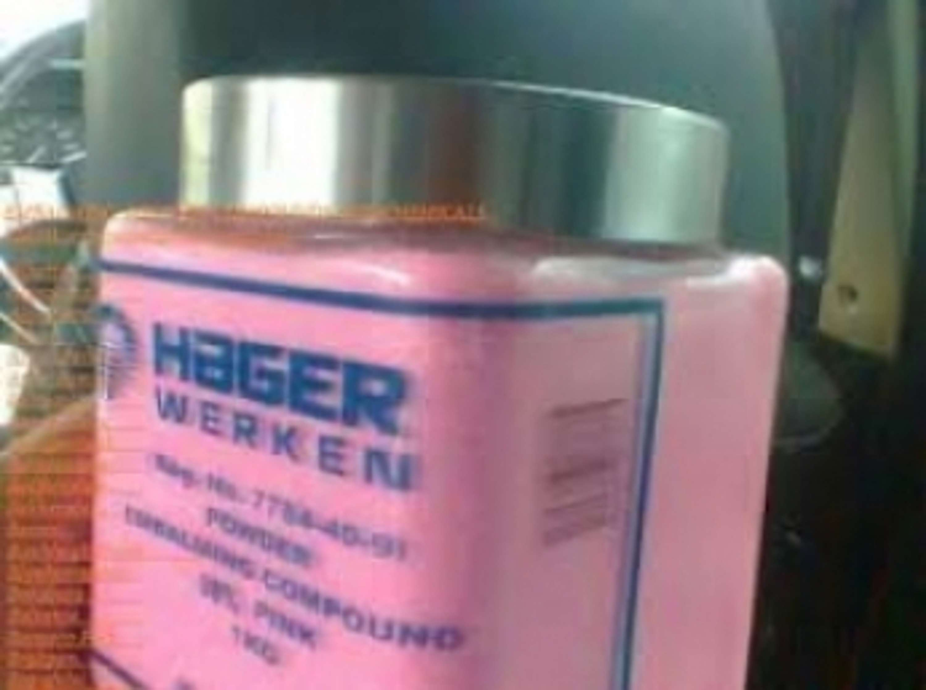 Pretoria Best suppliers of Hager Werken Embalming Compound powder