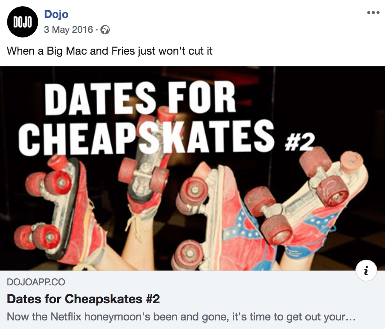 Dojo App - Date Night Series | The Dots
