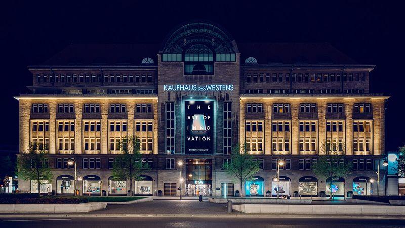 Samsung x KaDeWe - The Art of Innovation 2.0