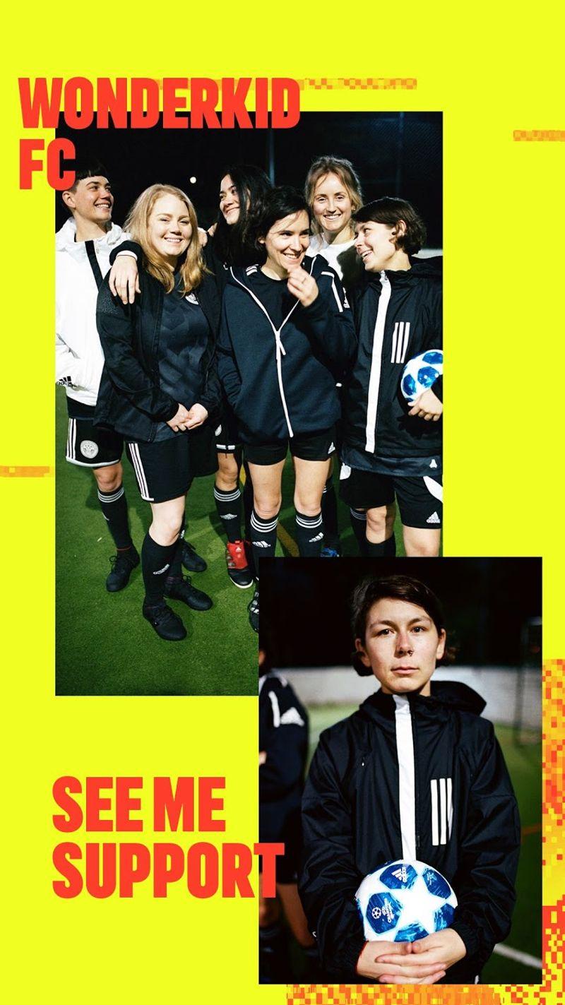 WONDERKID FC x adidas London