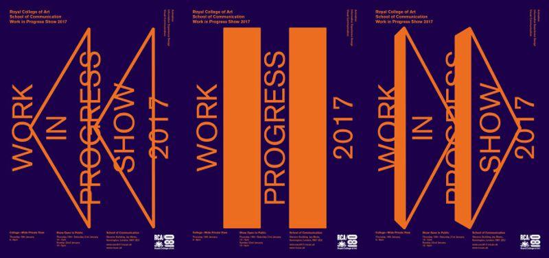 Royal College of Art School of Communication Work in Progress Show 2017