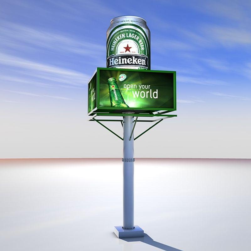 Heineken Branding/Outdoor