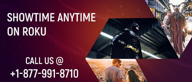 Activate Showtime Anytime on Roku.
