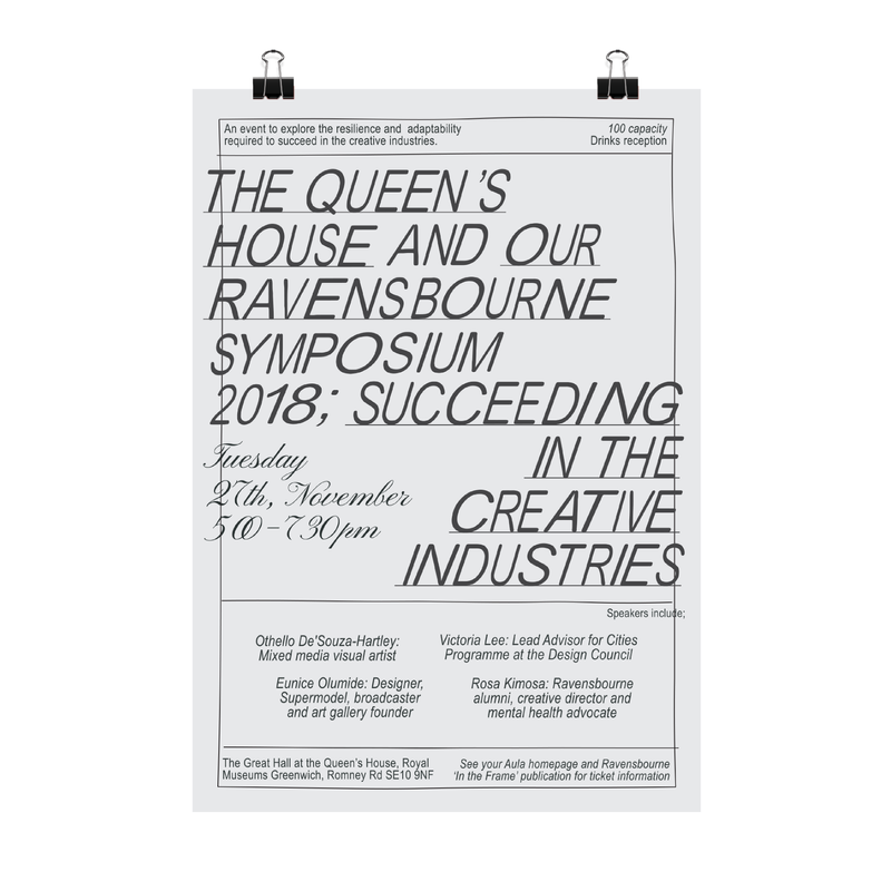 The Queen's House and Our Ravensbourne Symposium 2018