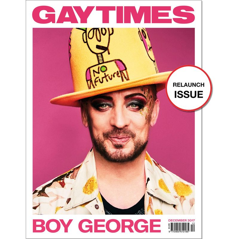 Gay Times Re-Launch Issue