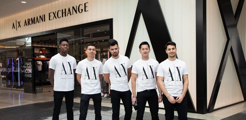 Armani Exchange - Store re-launch Activation