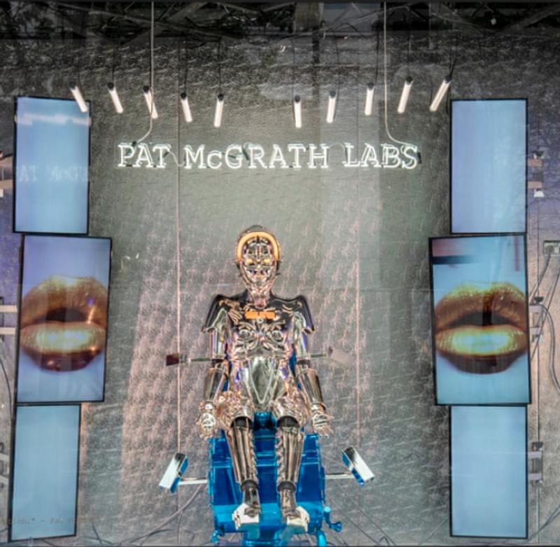 Pat Macgrath Selfridges Window Robot