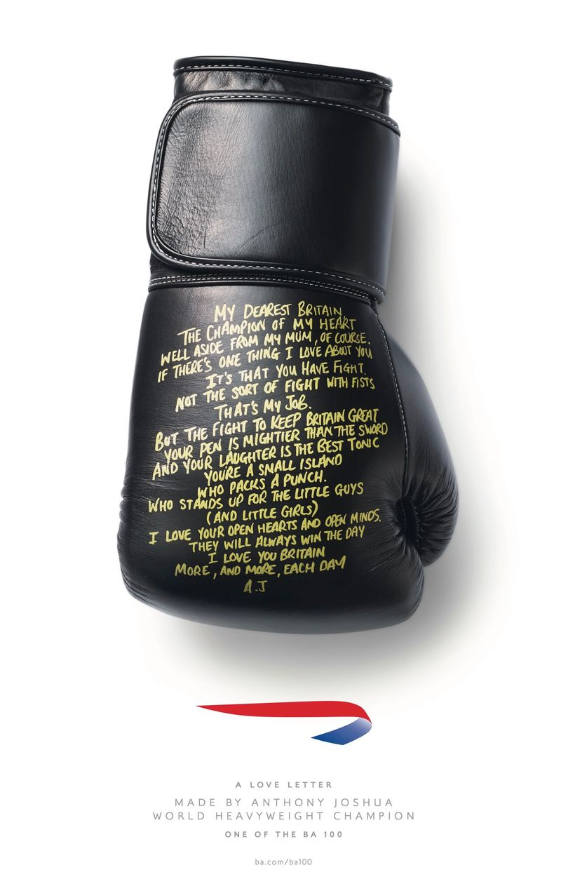 British Airways - A love letter Made By Anthony Joshua