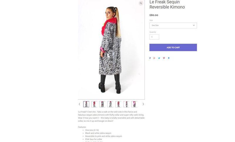 Womenswear Product Descriptions
